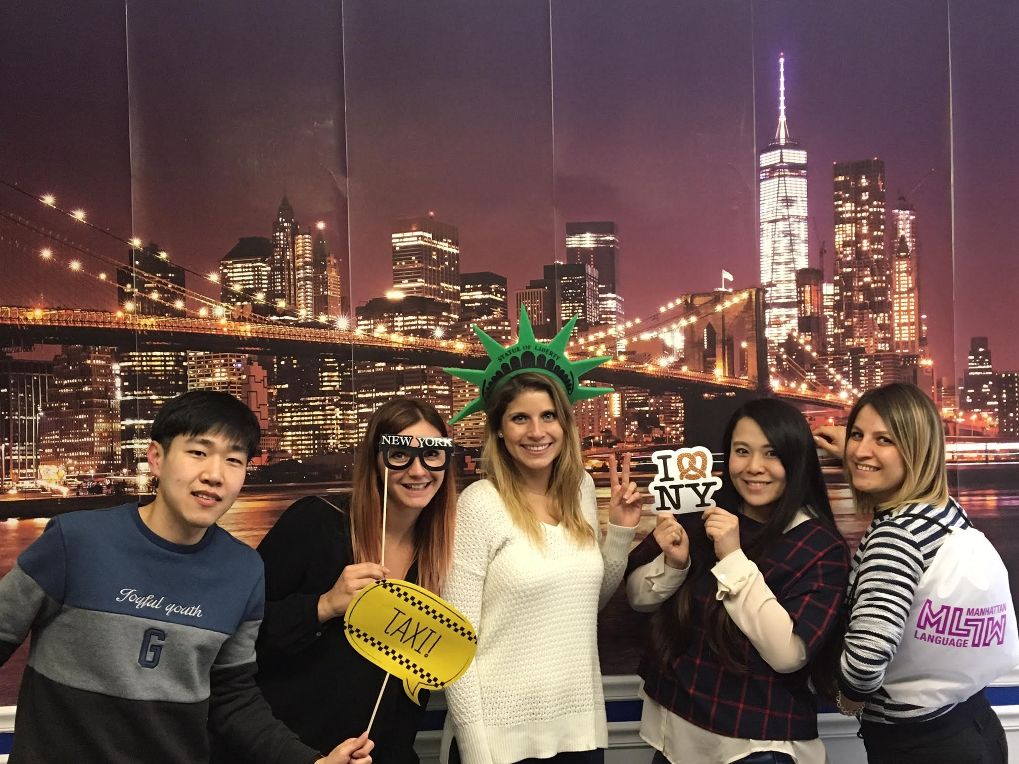 Manhattan Language host a fantastic Open House evening