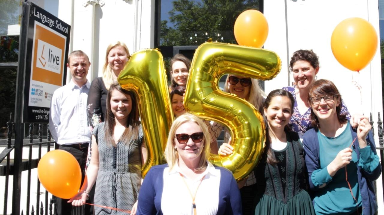 Live Language celebrate 15 years of delivering quality training