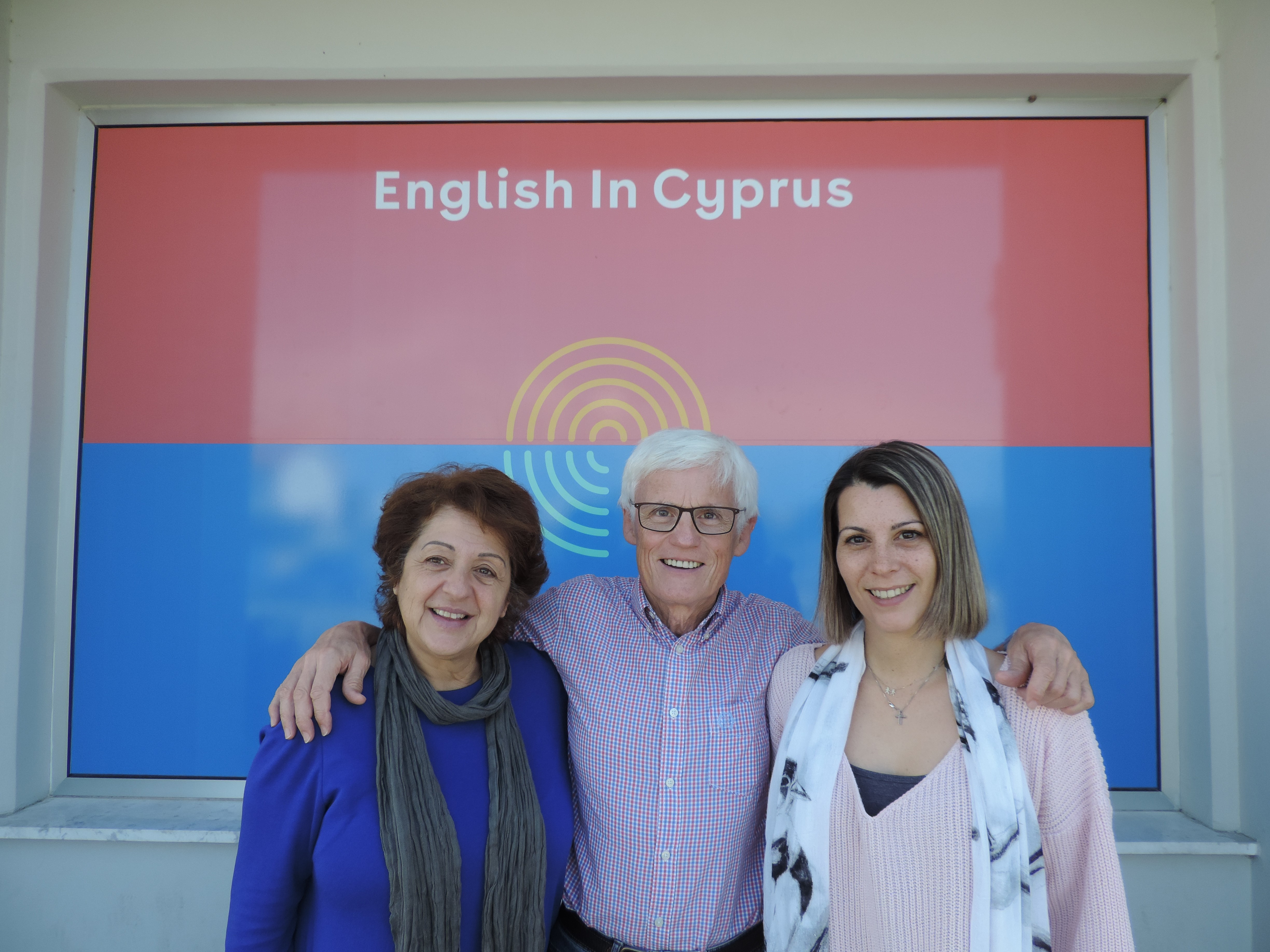 QE visit to English in Cyprus
