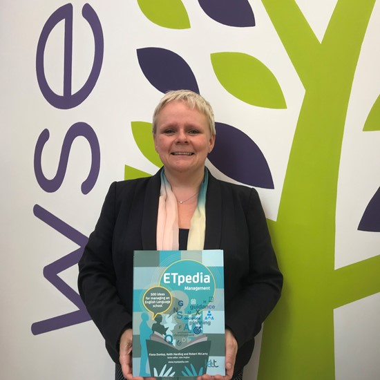 Principal of Wimbledon School of English publishes her first book on language school management