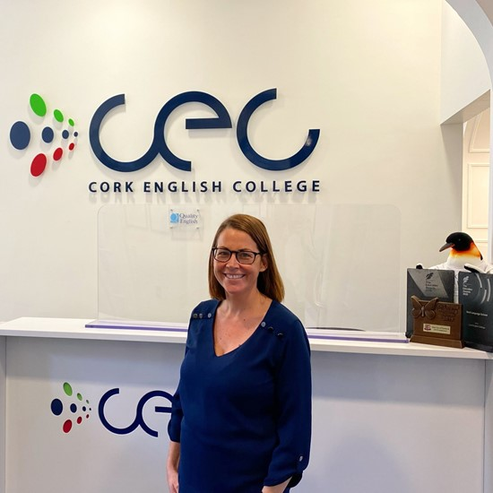 Cork English College welcome new Academic Manager