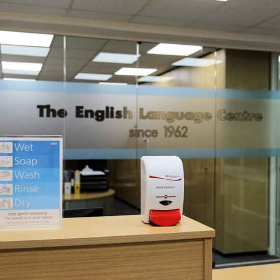 English Language Centre, Brighton and Eastbourne open their doors again