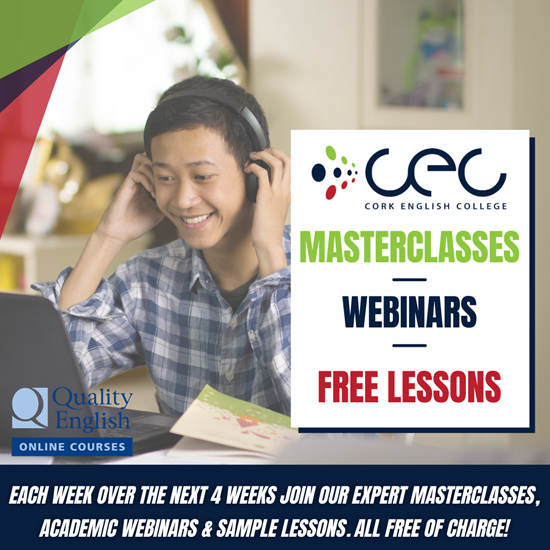 CEC announces new series of Exam Masterclasses, Academic Webinars and Free Online Lessons